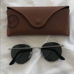 Ray-Ban Accessories - Ray-Ban folding silver mirror Sunglasses